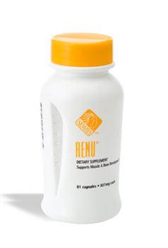 ריניו (Renu) - נוסחה צמחית. מאיץ חילוף חומרים בגוף, לחיזוק תזונתי של השרירים, לטונוס השלד ולשיפור המצב הגופני הכללי. ריניו בונה ומחדש רקמות ולכן הוא מעולה לשברים בעצמות ואחרי ניתוחים.