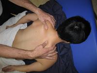 עיסוי שרירי הטרפזיוס