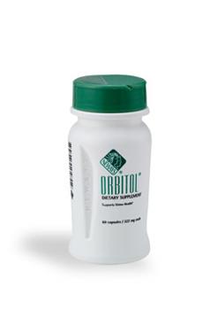 אורביטול -  הינו תמצית צמח אייברייט, העשיר בניאצין (ויטמין A וריבופלבין) ותמצית בוטנית של אוכמניות.