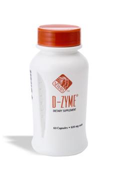 די - זיים (d - zyme) - שילוב של אנזימי עיכול טבעיים, המופקים מן הצומח - פפיה, אננס ועוד ... המוצר מסייע לתהליכי העיכול בגוף כולל פירוק שומנים.