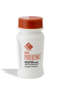 פרוטוזימס (protozymes) - מכיל 5 סוגי חיידקי מעיים ידידותיים - חיידקים פרוביוטים. שומר על איזון רצוי של חיידקים ידידותיים לבריאות המעיים.