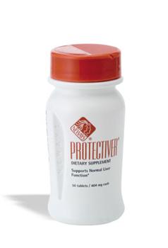 פרוטקטיבר (protectiver) - שפע של מרכיבים תזונתיים מועילים - צמחי מרפא 'silymarine' שהינו נוגד חימצון רב עוצמה, 'blessed thistle' ושן הארי שהוא ויטמין A ובנוסף ויטמין C וויטמין E. מסייע לפעילות בריאה ותפקוד תקין של הכבד.