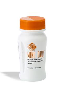 מינג גולד (Ming Gold) - תוסף תזונה רב עוצמה המכיל פטריית cordyceps . תוסף צמחי להגברת כוח, סיבולת ומרץ.