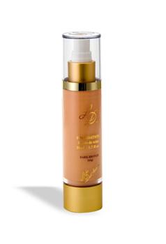 מייק אפ ברונזה כהה - צירוף חדשני של מרכיבים, המאפשרת לעור לנשום. הוא מתמזג בטבעות עם צבע העור ויוצר מראה חלק ומושלם ללא פגם.