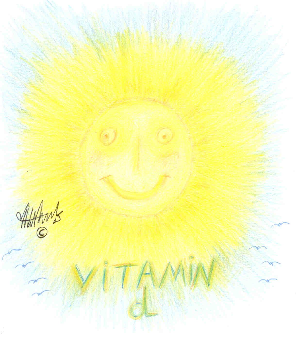 ויטמין d נוצר באופן טבעי על ידי חשיפת עורנו לקרני השמש. הימנעות מוגזמת לחשיפה מהשמש עלולה לגרום לחוסר בויטמין d ולגרור אחריה מחלות ובין היתר למחלת אוסטיאופורוזיס.